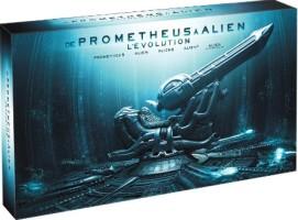 """Coffret """"De Prometheus à Alien, l'évolution"""" édition collector 9 disques (blu-ray)"""