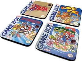 "Dessous de verres ""Game Boy"""