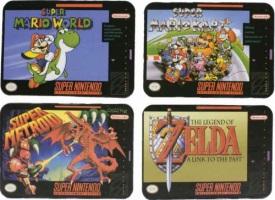 """Dessous de verres """"Super NES"""""""