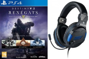 Destiny 2 : Renégats collection légendaire (PS4) + casque