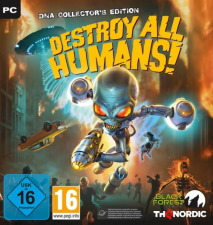 Destroy All Humans! édition collector DNA (PC)
