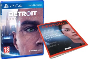 Detroit : Become Human (PS4) + magazine collector