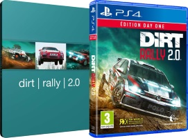 DiRT Rally 2.0 édition Day One (PS4) + steelbook