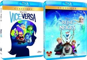 Disney Mania : 5 blu-ray Disney pour 50€