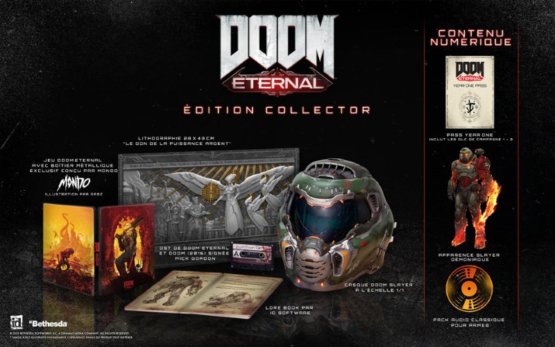 [2019-11-22] Doom Eternal Edition collector (PS4 - X-One - PC] BlNMA