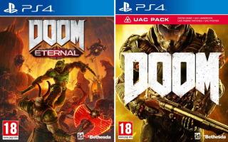 Doom Eternal + Doom (PS4)