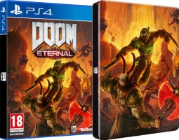 Doom Eternal (PS4) + steelbook