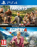 Double pack Far Cry 4 + Far Cry 5 (PS4)