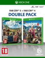 Double pack Far Cry 4 + Far Cry 5 (Xbox One)