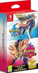 Double Pack Pokémon épée + bouclier (Switch)