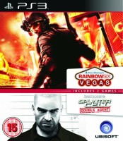 Double Pack Rainbow Six: Vegas + Splinter Cell Double Agent (PS3)