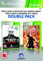 Double Pack Rainbow Six: Vegas + Splinter Cell Double Agent (xbox 360)