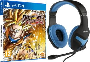 Dragon Ball FighterZ (PS4) + casque filaire Konix