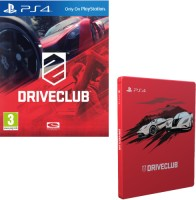 DriveClub + Steelbook (PS4)