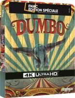 Dumbo édition steelbook (blu-ray 4K)