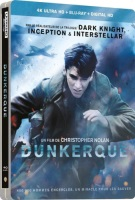 Dunkerque édition steelbook (blu-ray 4K)