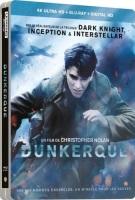 Dunkerque édition steelbook (blu-ray 4K + blu-ray)
