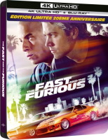 Fast and Furious édition steelbook (blu-ray 4K)