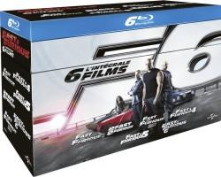 Coffret Fast and Furious 1 à 6 (blu-ray)