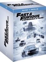 Intégrale Fast & Furious 1 à 8 (blu-ray)