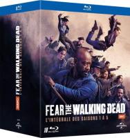 Fear The Walking Dead : saisons 1 à 5 (blu-ray)