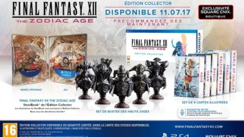 Final Fantasy XII : The Zodiac Age édition collector (PS4)