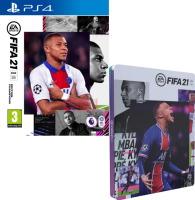 FIFA 21 édition champions (PS4) + steelbook offert