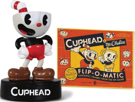 Figurine Cuphead sonore avec livre
