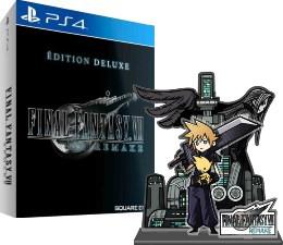 Final Fantasy VII Remake édition Deluxe (PS4) + diorama