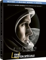 First Man : Le premier homme sur la lune édition steelbook (blu-ray)