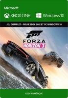 Forza Horizon 3 (Xbox One, Windows 10) version dématérialisée