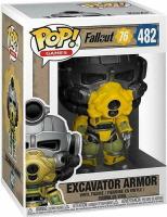 Funko Pop Excavator Armor de Fallout 76