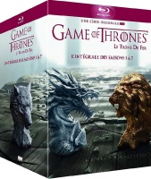 Game of Thrones : intégrale des saisons 1 à 7 (blu-ray)