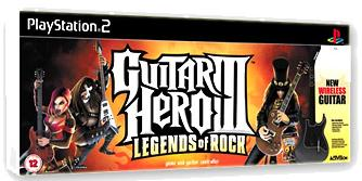 Guitar Hero 3 [avec guitare sans fil] (PS2)