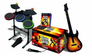 Guitar Hero 4 complet sur PS2