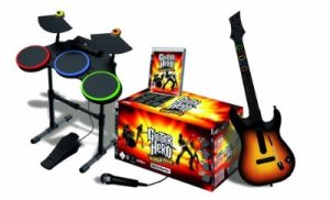 Guitar Hero 4 complet sur PS3