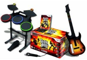 Guitar Hero 4 complet sur wii