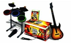 Guitar Hero 4 complet sur xbox 360