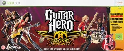 Guitar Hero: Aerosmith + Guitare (xbox 360)