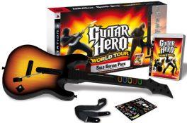 Guitar Hero World Tour + Guitare (PS3)