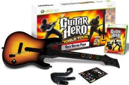 Guitar Hero World Tour + Guitare (xbox 360)