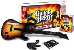 Guitar Hero World Tour + Guitare (wii)