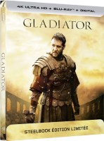 Gladiator édition steelbook (blu-ray 4K)