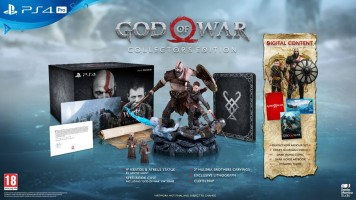 God of War édition collector (PS4)