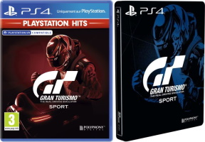 "Gran Turismo Sport édition ""PlayStation Hits"" (PS4) + steelbook offert"
