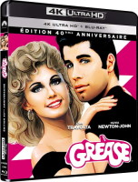 Grease édition 40e anniversaire (blu-ray 4K)