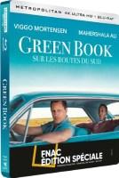 Green Book : Sur les routes du Sud édition steelbook (blu-ray 4k)