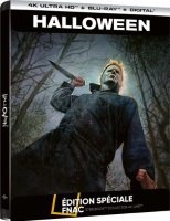 Halloween édition steelbook (blu-ray 4K)