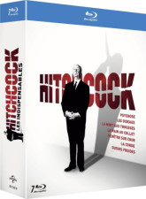 Alfred Hitchcock : Les indispensables (blu-ray)