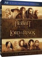 Le Hobbit et le seigneur des anneaux la trilogie (blu-ray)